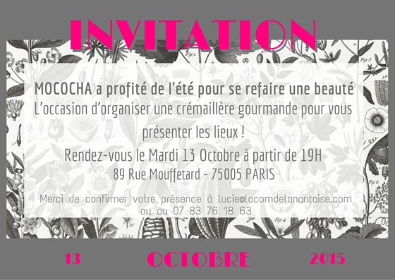 Mococha invitation