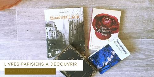 LIVRES À LIRE AVANT DE DÉCOUVRIR PARIS